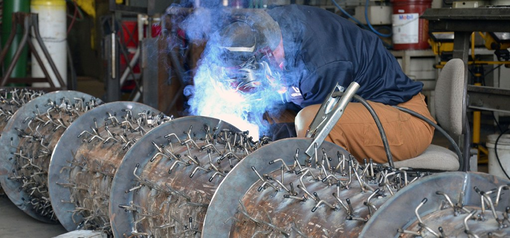 Lyman-Morse Fabrication specializes in industrial needs