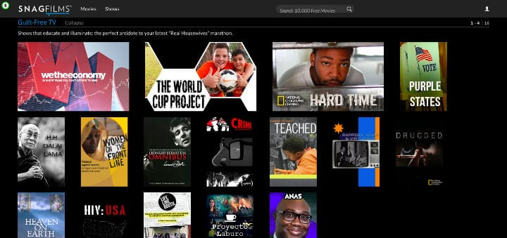 Free TV Shows Streaming Online Full Episodes Snagfilms