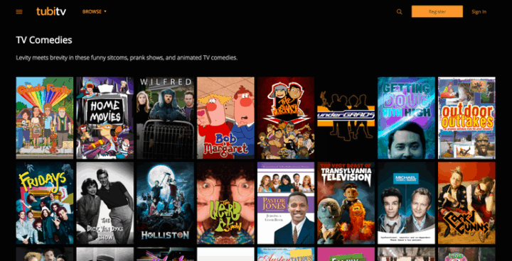 site for movies and series