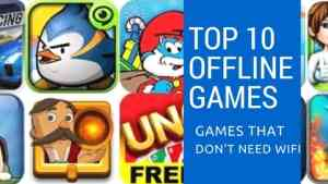 Games that Dont need Wifi