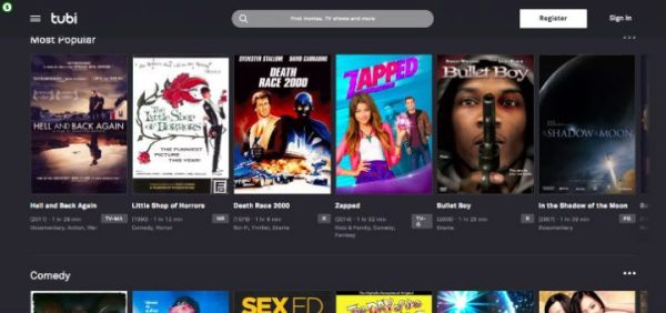 Tubi TV Free Movie and Tv Shows Streaming Review | LyncConf