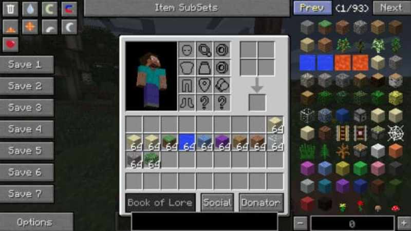 minecraft mods inventory tweaks