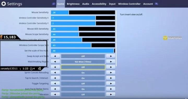 fortnite pc best keyboard setup