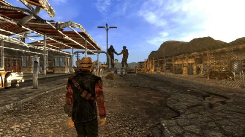 Fallout new vegas alternative start