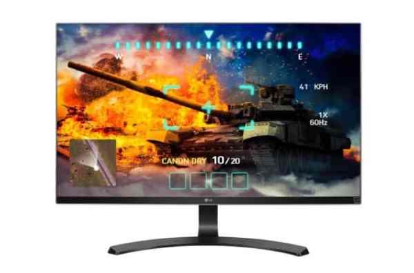 LG 27UD68-P-Ultra HD 4K IPS Monitor
