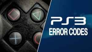 PS3 Error Code 80710723