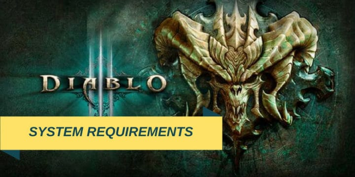 Diablo 3 System Requirements