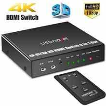 USBNOVEL HDMI Switch 3 Port 3 x 1