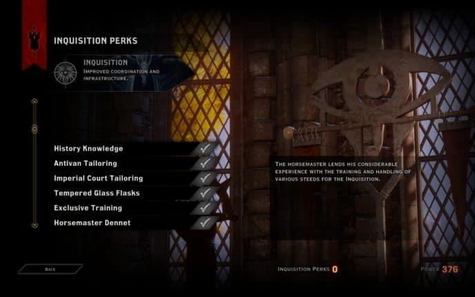 More Inquisition Levels