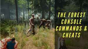 The Forest Console Commands