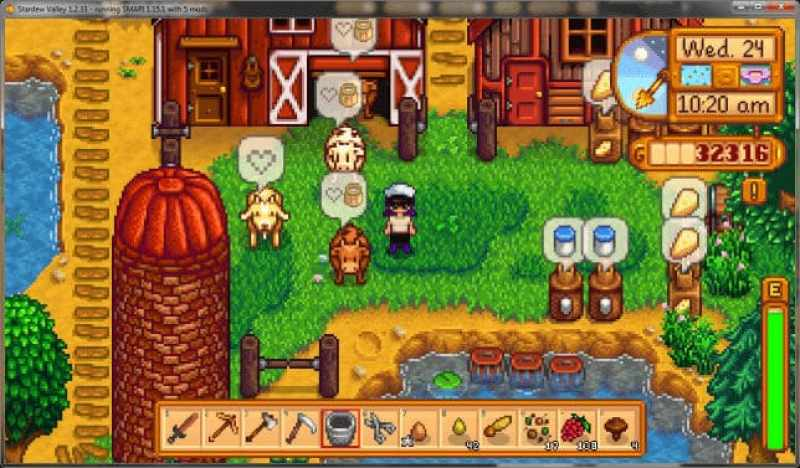 stardew valley recommended mods