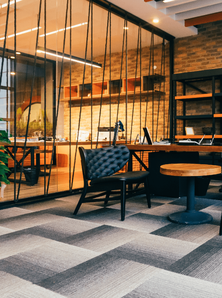A contemporary office space