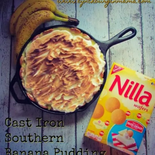 Cast Iron Southern Banana Pudding Recipe