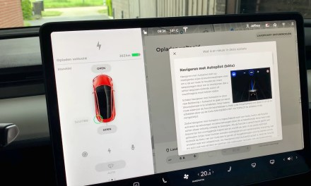 Een nieuwe update voor mijn Model 3… 2019.12.1.2
