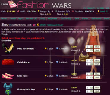 Fashionable Game, Have You Heard Fashion Wars?
