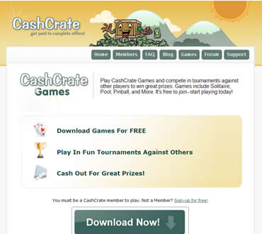 Cash Crate's Fun Money Making Games