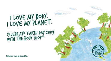 The Body Shop Philippines Invites You To Celebrate Earth Day 2009
