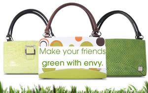 Green,Smart and Fashionable Eco-Handbags