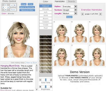 Virtual Hairstyle 1