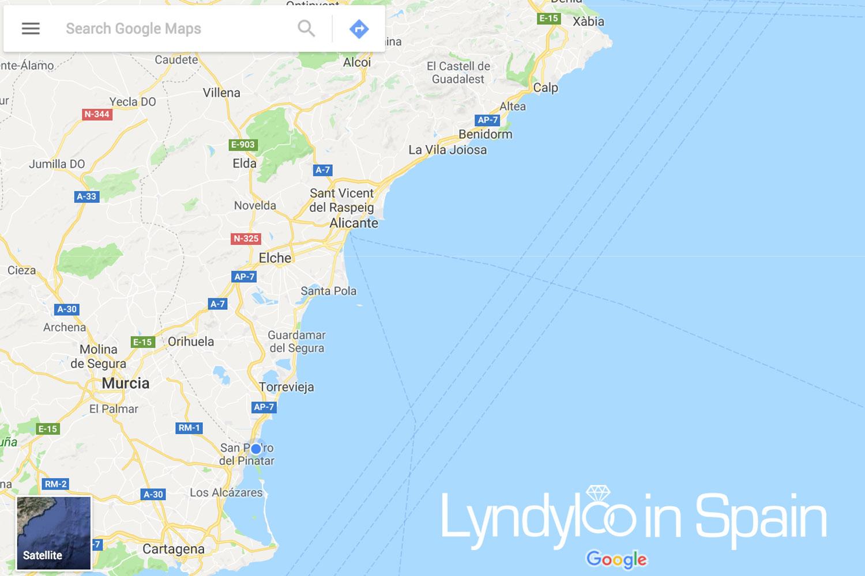 La Manga Weddings Lyndyloo in Spain