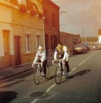 Lyne Tremblay, entrainement en vélo