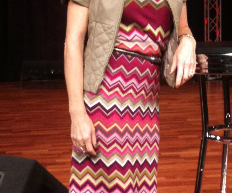 How a Missoni Baby Blanket Became a Dress
