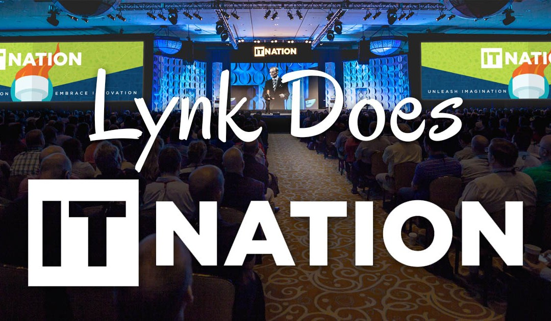 Lynk Does IT Nation 2015