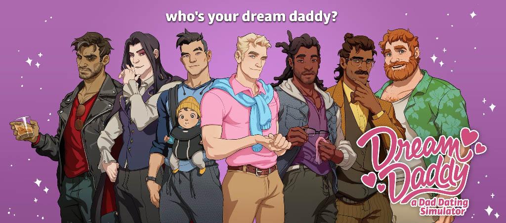 Dream Daddy, a Dad Dating Sim
