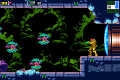 Metroid Zero Mission Gameplay