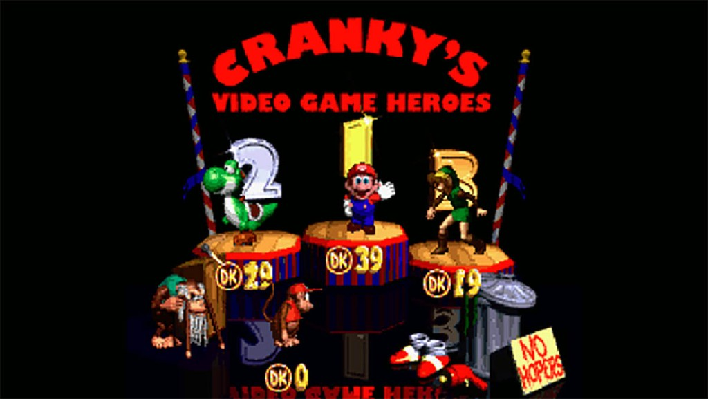 Cranky's Video Game Heroes feat. Sonic