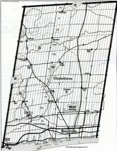Map of Elizabethtown