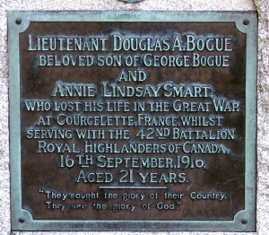 Lt Douglas Gogue
