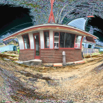 Digital photo designed in Photoshop, 90's CD cover idea