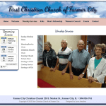 Farmer City Christian Church Worship Service