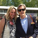 Nigel Havers and Lynne Allbutt