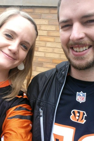 Bengals Fans at Steelers Game // lynnepetre.com