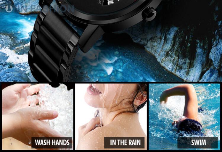 SKMEI 1260 Men's Waterproof Quartz Watch