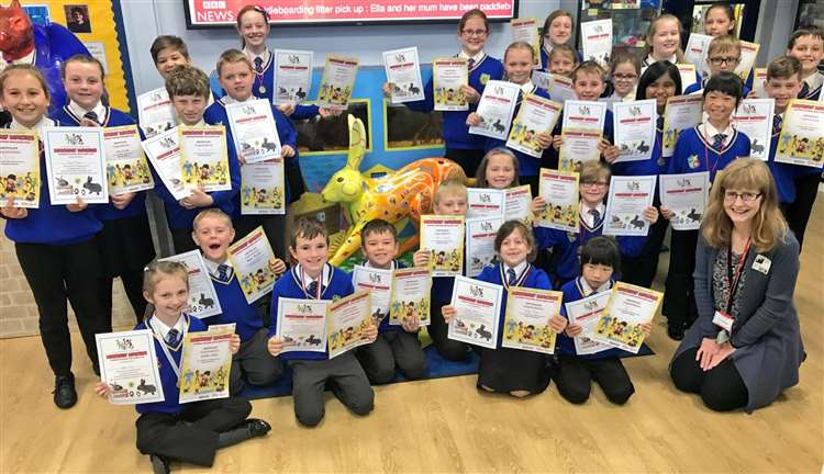 A real success story for Howard Junior youngsters