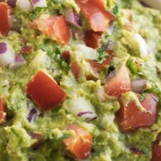not-so-fat guacamole