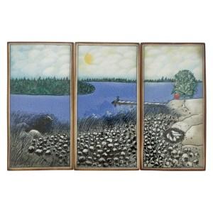 Arabia Heljä Liukko-Sundström Triptych Set