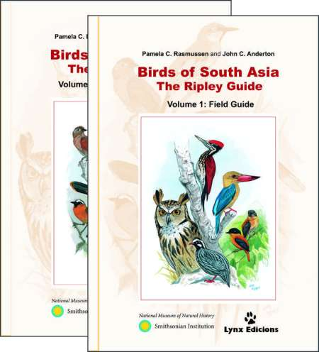 Birds of South Asia book cover image