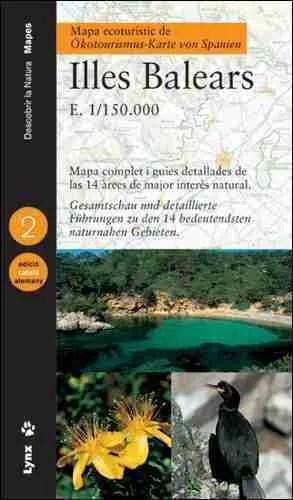 Mapa ecoturístic de les Illes Balears (Catalan/German) book cover image