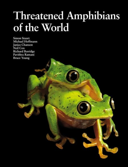 Threatened Amphibians of the World book cover image