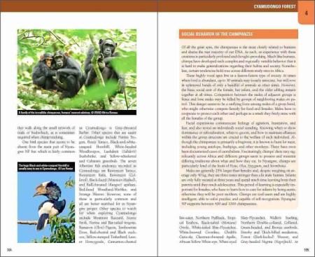Wild Rwanda sample page