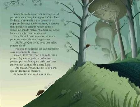 Els eriçons i la terra fosca sample page