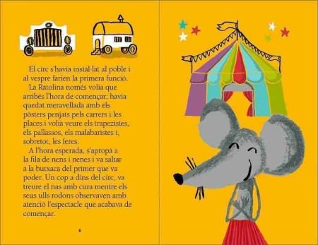 La Ratolina al circ sample page