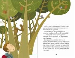 Los tesoros del bosque sample page