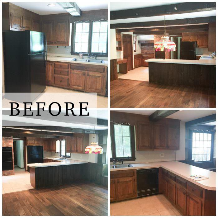 Farmhouse Kitchen Makeover on Farmhouse Rustic Kitchen  id=70079