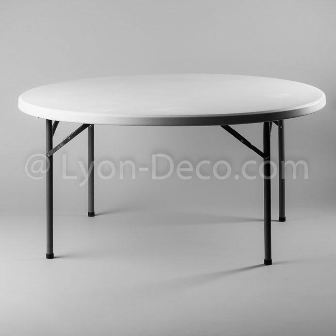 location table ronde dia 178cm en