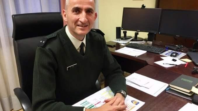 Général Stéphane Pau au Quartier Général Frère